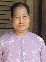 Le Thi Chim today. Two of her children were killed during the Tet offensive in 1968