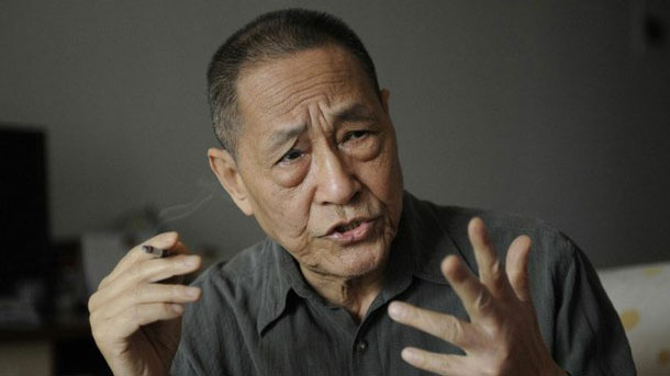 Former top government aide Bao Tong is shown in a file photo.