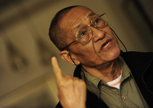 Bao Tong, political dissident and aide to former Chinese premier Zhao Ziyang, Sept. 14, 2009.
