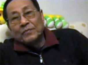 Bao Tong at his Beijing home, April 2008.