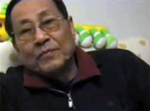 Bao Tong at his Beijing home, April 2008.