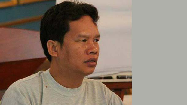 Cambodian Union Leader Rath Rott Mony in a Facebook photo