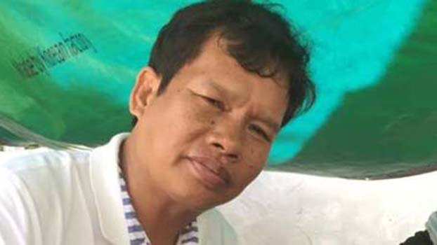 Cambodian Union Leader Rath Rott Mony, indicted for helping Russia Today produce a documentary about sex trafficking, shown here in an undated photo