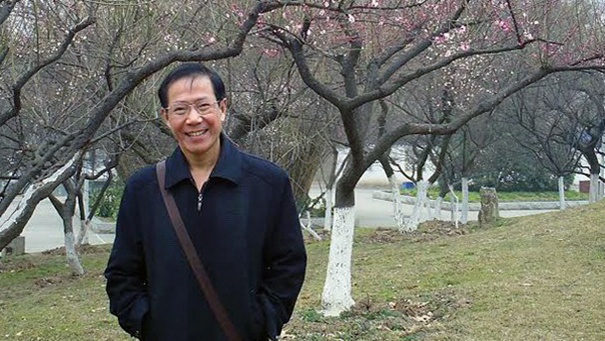 Chinese activist Qin Yongmin in a file photo.