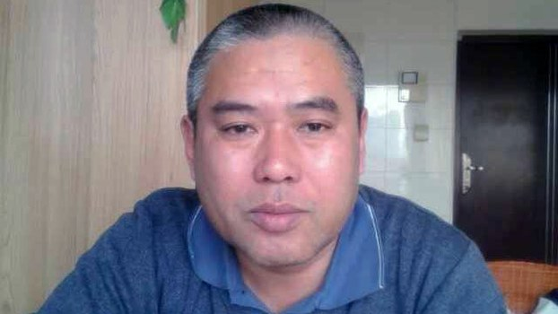 Shandong rights activist Yu Xinyong is shown in an undated photo.
