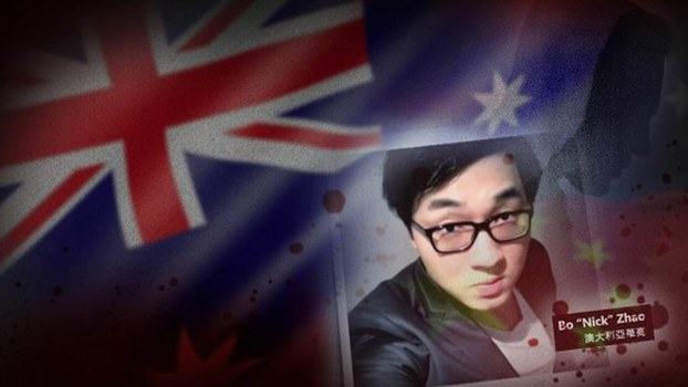 Australian Liberal Party member and Melbourne car dealer Zhao Bo, 32, who mysteriously died in March, in screen grab.