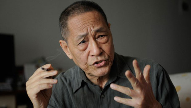 Bao Tong, former top aide to ousted Chinese premier Zhao Ziyang, is shown in a file photo.