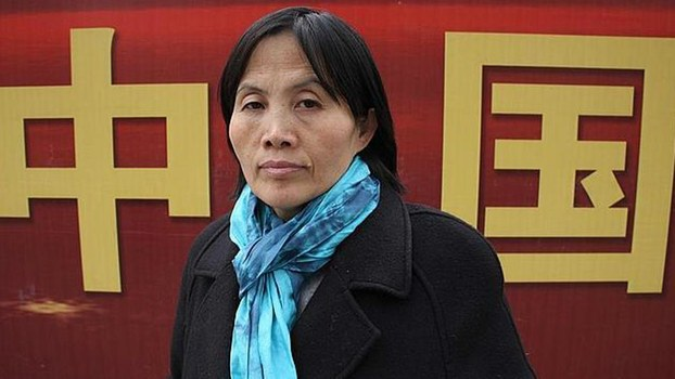 Human rights activist Cao Shunli, who died in police detention, March 14, 2014.