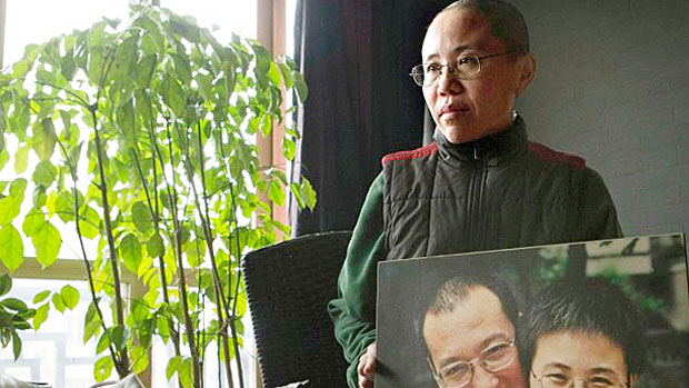 Liu Xia, widow of deceased Chinese dissident and Nobel Peace Prize winner Liu Xiaobo, is shown in a file photo.
