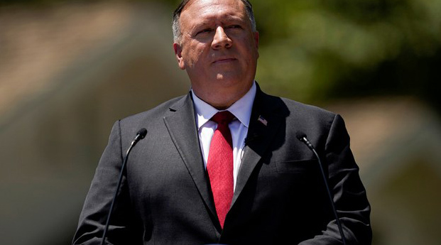 US Secretary of State Mike Pompeo is shown in a file photo.