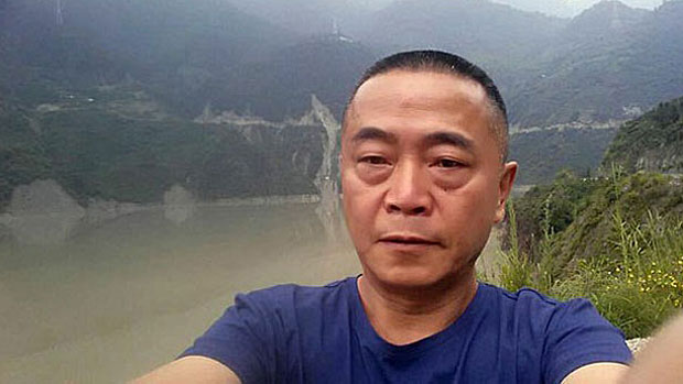 Tianwang human rights website founder Huang Qi is shown in an undated photo.