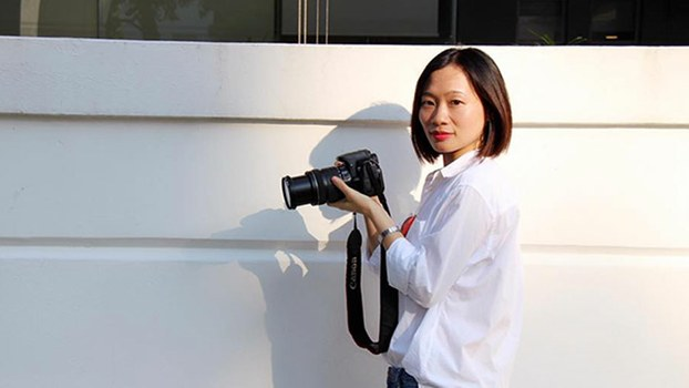 Huang Xueqin, also known as Sophia Huang, a journalist and #me too activist who was detained on Oct. 17 by police in the southern Chinese city of Guangzhou, in undated photo.