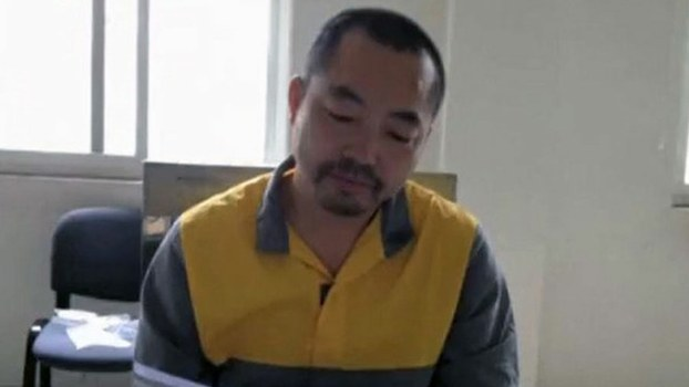 Human rights lawyer Ding Jiaxi, whose wife fears that he may have been tortured during his time in the Linshi Detention Center in the eastern Chinese province of Shandong, in undated photo.