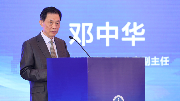 Deng Zhonghua, deputy director of the Hong Kong and Macau Affairs Office, says that Beijing can exercise jurisdiction over Hong Kong in cases of 'national security,' June 15, 2020.