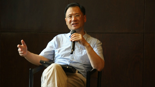 Tsinghua University law professor Xu Zhangrun was recently notified by school authorities to cease performing any duties, and banned from teaching and counseling students, in undated photo.