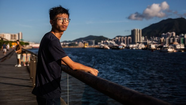 Hong Kong independence activist and former Studentlocalism convener Tony Chung is shown in an Aug. 8, 2020 photo.