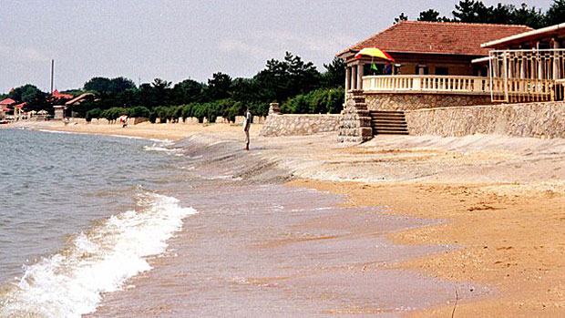 A beach in Beidaihe, China, is shown in a file photo.