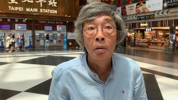 Lam Wing-kei, a former manager at the now-shuttered Causeway Bay Books store in Hong Kong who was detained in mainland China for selling banned books, in Taiwan, in an undated photo.