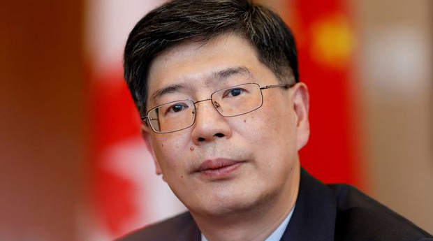 China's ambassador to Canada Cong Peiwu is shown in a Nov. 22, 2019 photo.