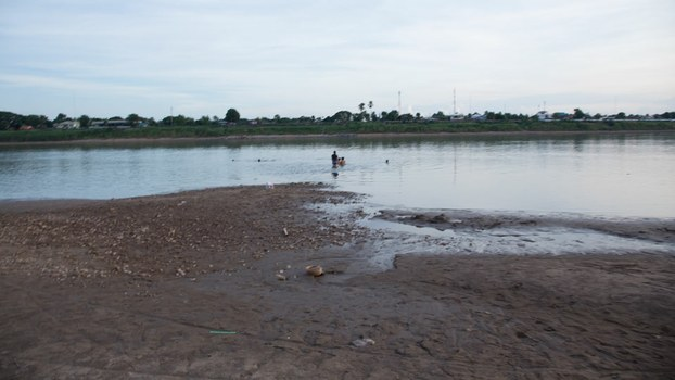 In July 2019, a severe drought in the Mekong river region caused an alarming drop in water levels. In some parts of Laos, the river was about one eighth of its normal depth.