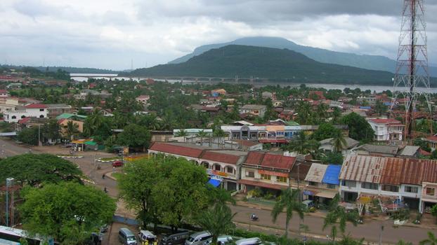 Laos' Champassak province, in a file photo