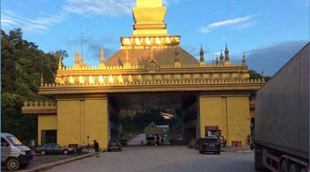 The Boten border crossing in Luang Namtha province in Laos is shown in a 2017 photo.