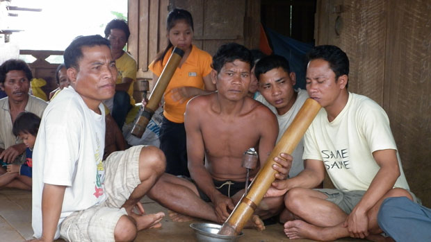 Yeub villagers in the Sekong province of Laos are shown in a 2012 photo.