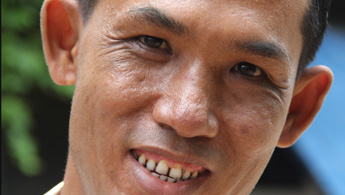 Former DR-TB patient Ko Min Naing Oo in an undated photo. Photo courtesy of MSF/Eddy McCall