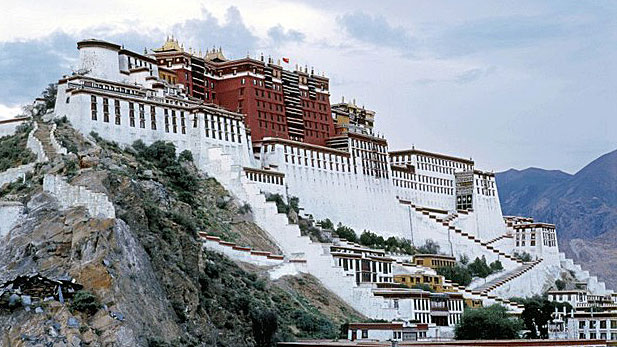 The Potala Palace in Lhasa is shown in a file photo.