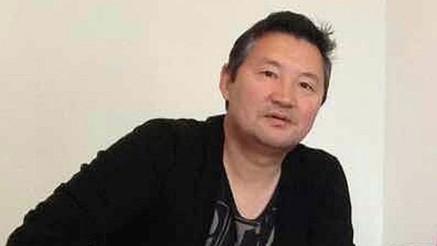 Dorjee Gyantsan, convicted in Sweden of spying for China, is shown in an undated photo.
