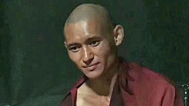 Lobsang Tenzin is shown in a photo taken after his June 5, 2018 release from prison.