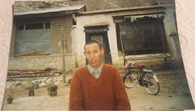 Former Tibetan political prisoner Samdrub is shown in an undated photo.