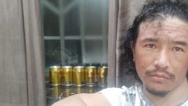 Tibetan writer Pema Gyatso is shown in an undated photo.