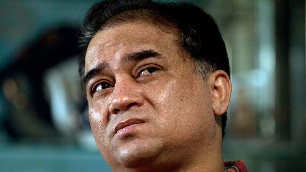 Imprisoned Uyghur professor Ilham Tohti is shown in an undated photo.