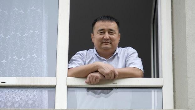Serikzhan Bilash poses for a photograph in Almaty, Kazakhstan, Aug. 17, 2019.