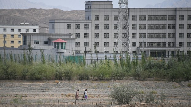A facility believed to be an internment camp located north of Kashgar, in the Xinjiang Uyghur Autonomous Region, June 2, 2019.