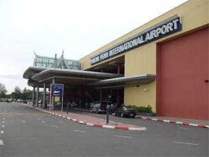 Phnom Penh airport, Aug. 1, 2006.
