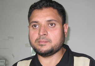 Pakistani businessman Sarfaraz in Urumqi, July 16, 2012.