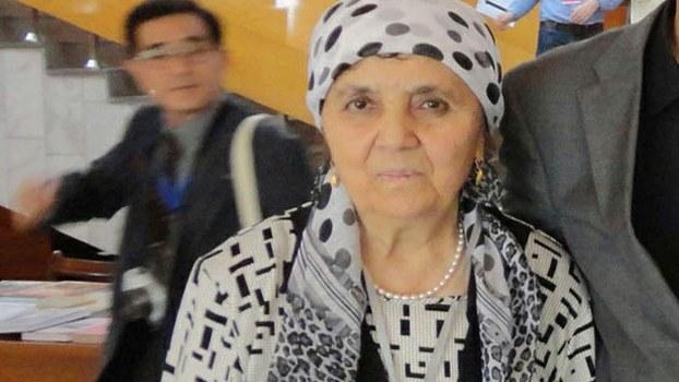 Söyüngül Chanisheff in Bishkek, Kyrgyzstan, in a file photo.