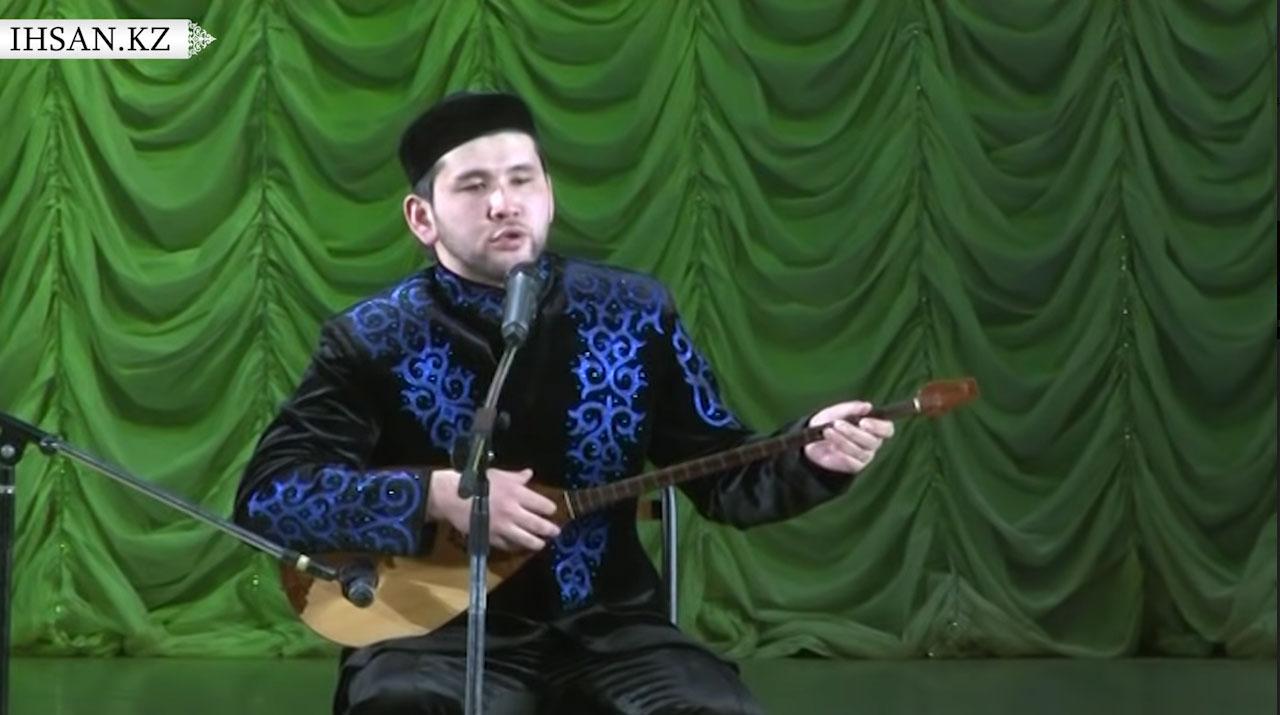 Kazakhstani singer Didar Kamiev in an undated photo.
