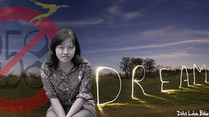 Dissident Vietnamese blogger Pham Doan Trang is shown in an image provided by the website danlambao.