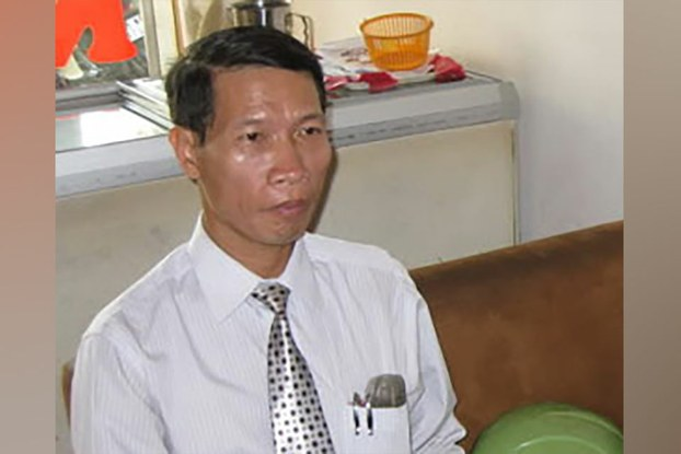 Vietnamese political prisoner Le Thanh Tung is shown in an undated photo.