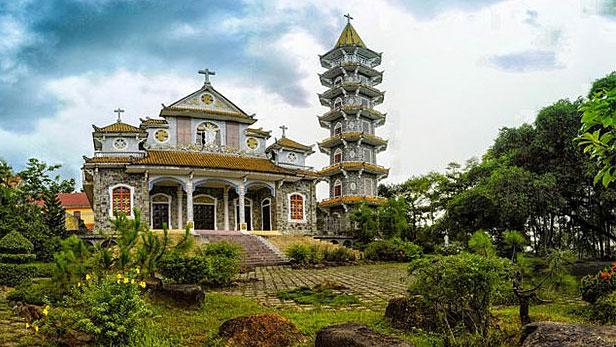 Vietnam's Thien An monastery is shown in an undated photo.
