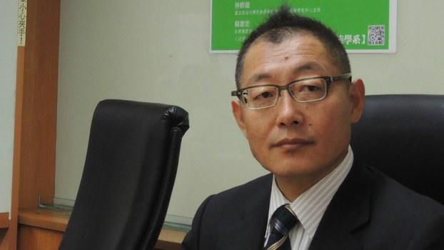Yang Haiyang, a professor at Japan's National Shizuoka University, is shown in a file photo.