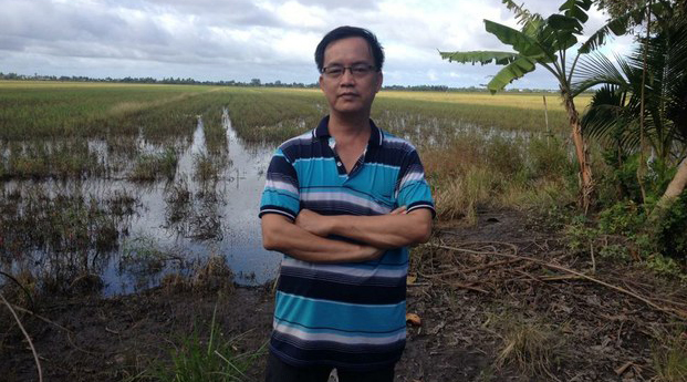 Detained Vietnamese Facebook user Nguyen Quang Khai is shown in an undated photo.