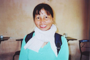 Ho Thi Bich Khuong in an undated photo.