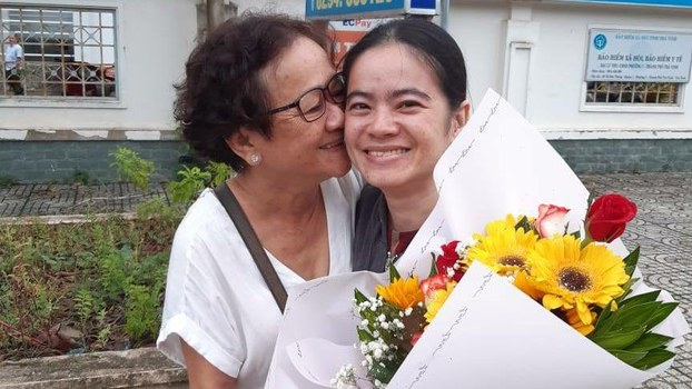 Nguyen Dang Minh Man released from prison on August 2, 2019.